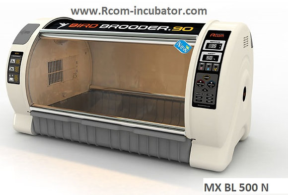 RCOM  MX-BL 500N Large Avian Brooder Nursery ICU (For Nebulizer attachment