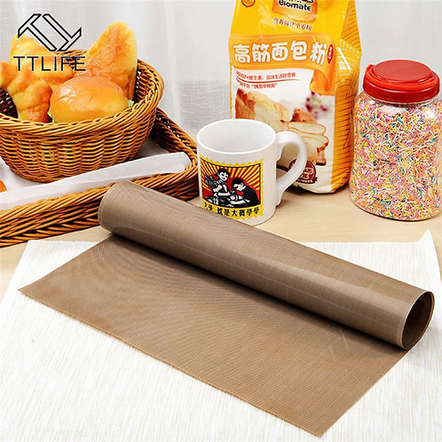 Reusable Teflon Non Stick Baking Paper Oven Pastry Baking Mat Heat Resistant