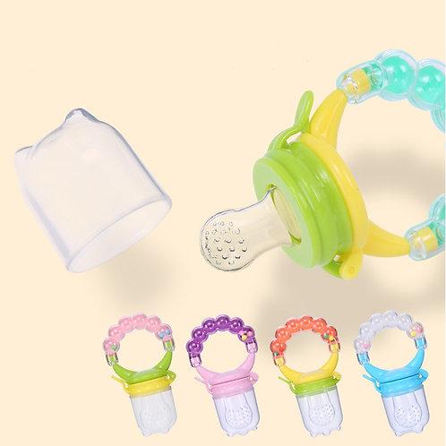 Baby Nimbler Pacifier Clip for Fruit Infant Food Nibbler Holder