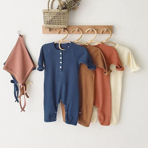 Baby Romper Clothes 0-24m Newborn Boy/Girl Rompers Cotton Long Sleeve Jumpsuit