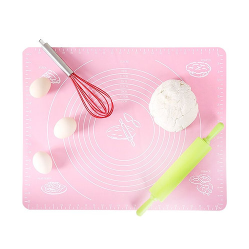 Non-Stick Baking Tray Mat Food Grade With Scaled Dough Pad