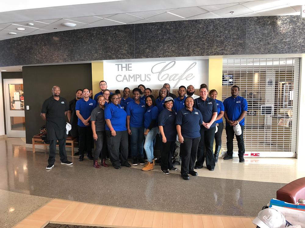The new eLite team members ready to serve TCC.