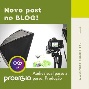 Produção audiovisual passo a passo: produção