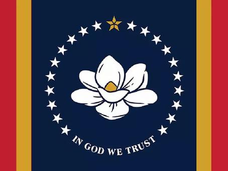 Le Drapeau d'État « En Dieu Nous Nous Confions » approuvé au Mississippi à 78-22%