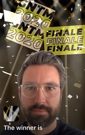 facefilter gntm germanysnexttopmodel instagram