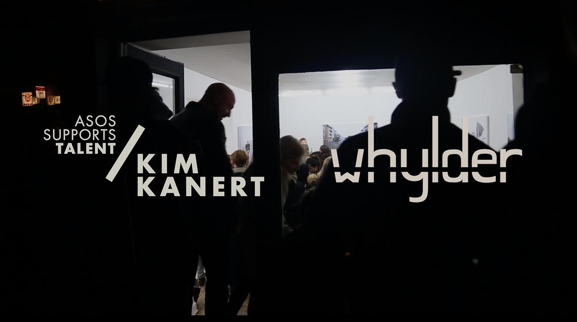 asos supports talent x kim kanert x whylder GmbH