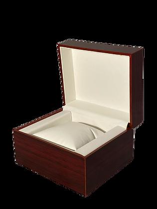 Gloss Red Oak Mini Watch Case