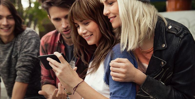 happy mobile app customers