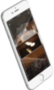 small businee mobile app screen shot