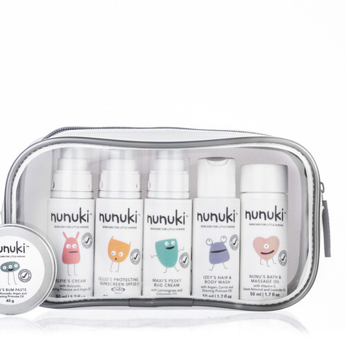 Nunuki®, South Africa's hidden skincare gem brings fun and science to little humans.