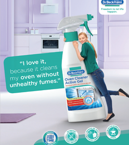 Cook Morning, Noon & Night! Dr Beckmann Oven Cleaner has the cleaning covered.