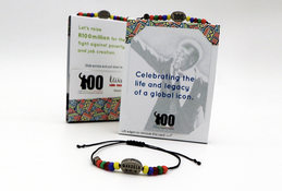In honour of Nelson Mandela's centenary year help us raise R100 million for children's literacy and