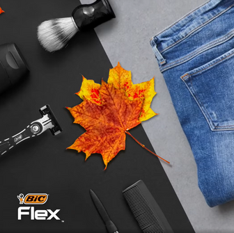 Master Your Look with BIC Flex.