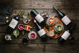 Winter wine and soup pairing - a toast to spoonfuls of comfort.