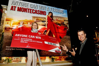 Montecasino's 'Anyone Can Win a Ferrari' Promotion is back on!