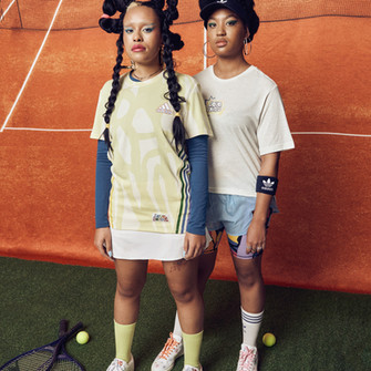 """ADIDAS collaborates with RICH MNISI & THEBE MAGUGU on the 2021 """"LOVE UNITES"""" pride campaign."""