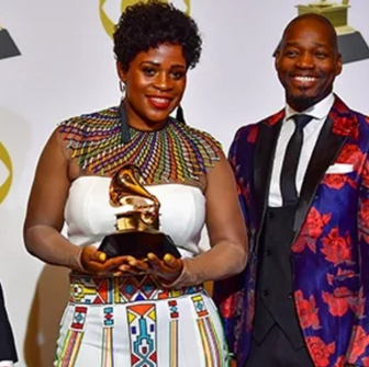 Proudly South African... Soweto Gospel Choir takes home their Grammy Award.
