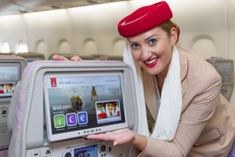 Emirates takes local entertainment to new heights.