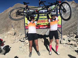 COURAGEOUS WOMAN DUO CONQUERS HIMALAYAS ON TANDEM AGAINST ALL ODDS.