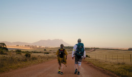 Two-day hike in the Swartland in aid of StreetSmart SA.