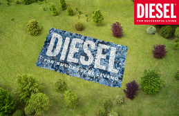 The next chapter about about sustainable denim at DIESEL: Introducing DIESEL library.