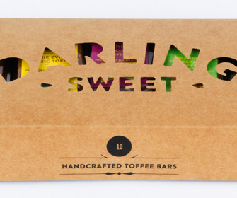 SWEETEN YOUR VALENTINE'S DAY WITH DARLING SWEETS NEW CHOCOLATE TOFFEE FLAVOUR.