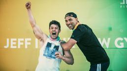 "JEFF celebrates 1 year Anniversary with live fitness event ""JEFFaversary Day""."