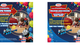 Kids come play with Thomas the Tank Engine & Friends as we celebrate his birthday, this weekend!