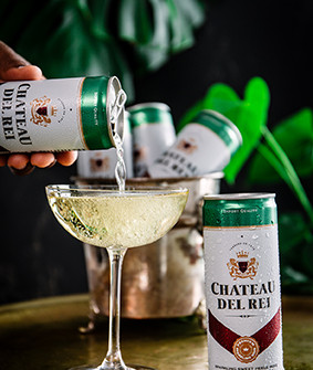 New Chateau Del Rei – easy drinking bubbly in a can for any occasion.