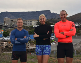Liezel van der Westhuizen's latest challenge: 2 giraffes and an ant ready to take on Freedom Paddle.