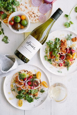 Recipe of the day - Fish Tikka Masala Tacos from SPIER.
