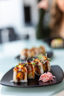 Adventurous sushi combos add a new wasabi zing to Eye Bar's offering.