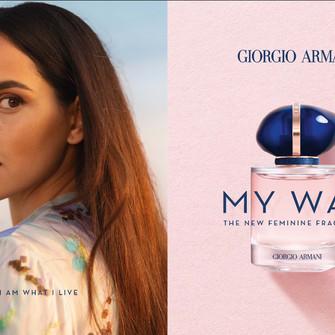 Giorgio Armani Releases New Fragrance: MY WAY.