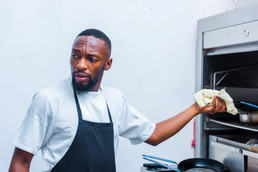 Theo Chiloane - paving the way for future young chefs.