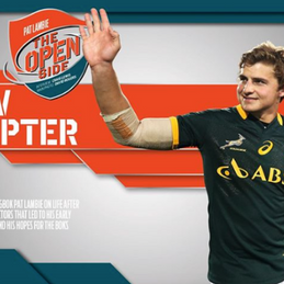 Pat Lambie's new chapter.