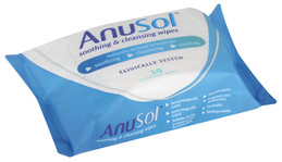 Anusol offers even more reflief with new FLUSHABLE WIPES!