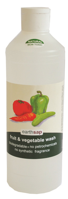 Earthsap's Fruit & Veg Wash.