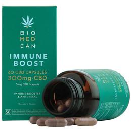 BIOMEDCAN Launches New CBD Immune Boost Capsules.