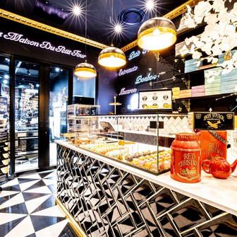 Patisserie Extraordinaire Just Teddy add kitchen theatre to their Hyde Park Corner store.