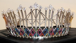 "American Swiss awarded the honour of designing Miss SA 2019's crown. Say hello to gorgeous ""Buhle""."
