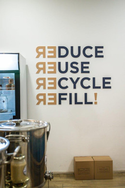 Reduce, reuse, recycle and REFILL at Hyde Park Corner's new The Refillery store.