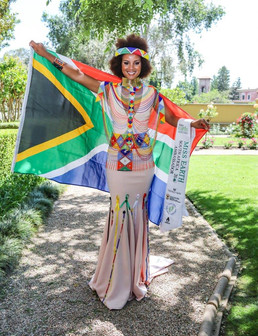Margo Fargo heads to Miss Earth in the Philippines to fly the SA Flag.