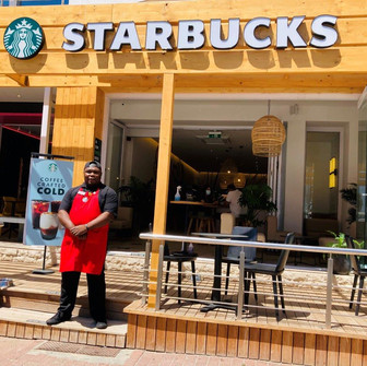 Yummy finds his 'home' at Starbucks Camps Bay.