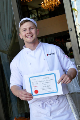 Kevin Reed - from Rugby to Roast Pork and Root Vegetables... meet the Most Promising Young Chef of t