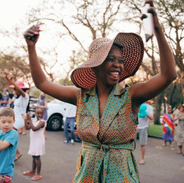 SUN CITY celebrates Heritage Day by keeping (HOME) fires burning.