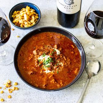 Take the chill off with Constantia Glen's new winter warmer menu.