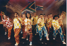 "AFRICAN FOOTPRINT celebrates 20 years of this ""explosive stampede of song and dance""."