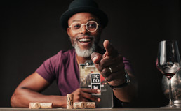 Thapelo Mokoena opens up the world of wine & TV-making launching 2 new YouTube content platforms.