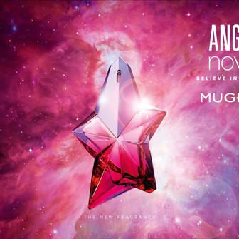 Angel Nova, the newest star in the MUGLER fragrances universe.
