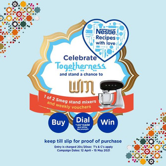 Nestlé shares the love during Ramadan in South Africa.